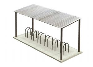 Scenecraft 44-035 Bicycle Rack